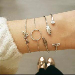 Jewelry - LOVE ♡ 4 PCs Bracelet Set